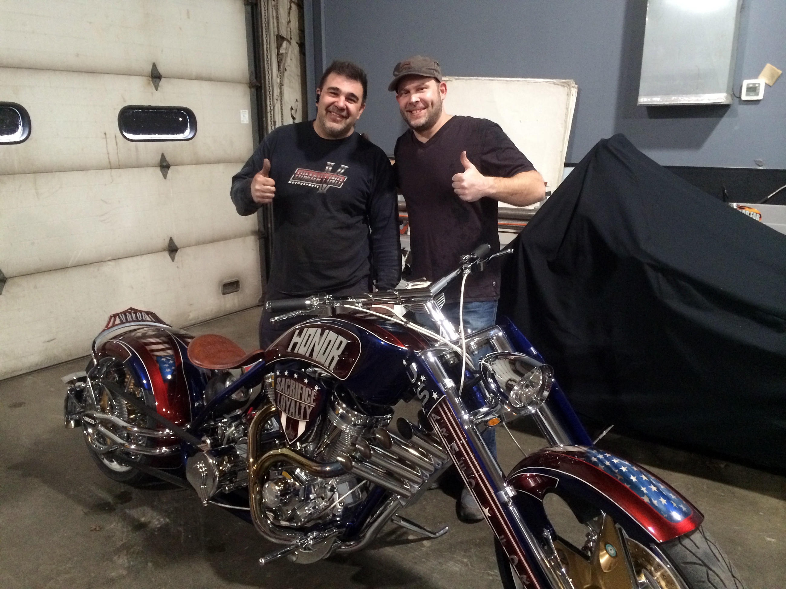 "Vincent ""Vinnie"" DiMartino has only had career highs. From learning his trade quickly as a kid to working on awesome custom motorbikes in a TV Show to now owning his own custom business."
