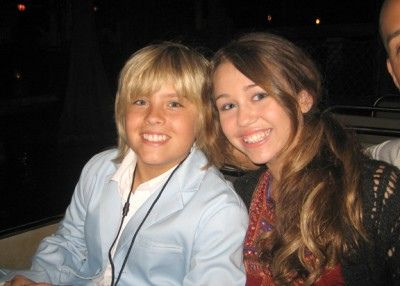 Dylan Sprouse and Miley Cyrus when they were young. The Disney Channel Star, Dylan Sprouse went on one date with the singer back when they were 11 or 12 years old. They had met on the set of The Suite Life of Zack and Cody.