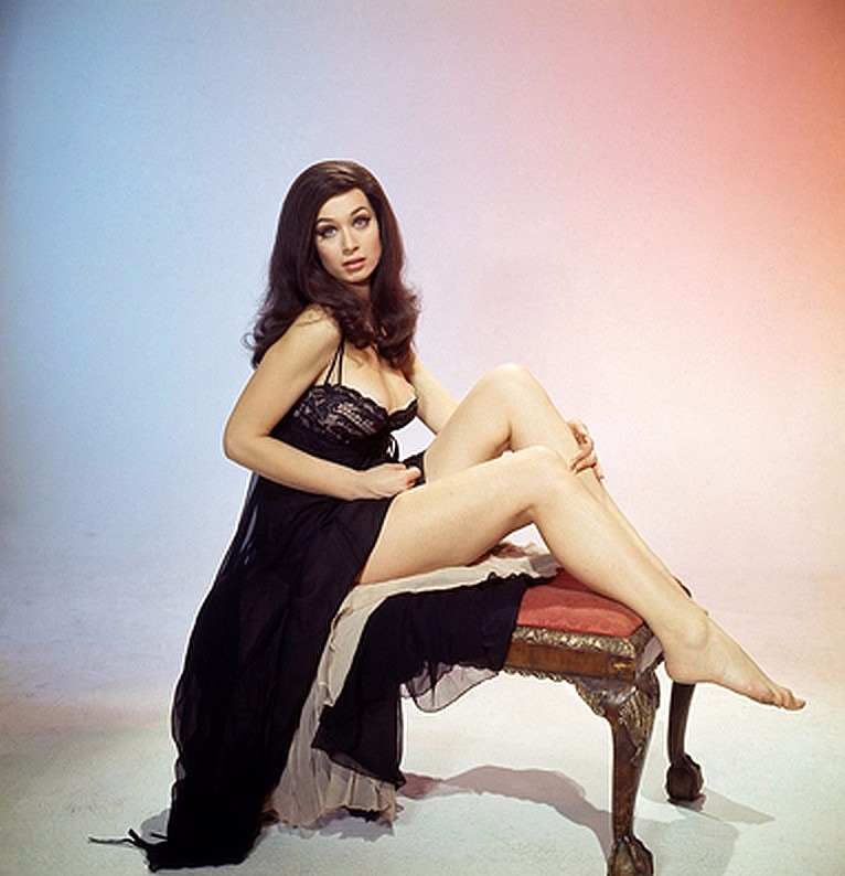 Valerie Leon in her young age. One of Valerie's hot picture.