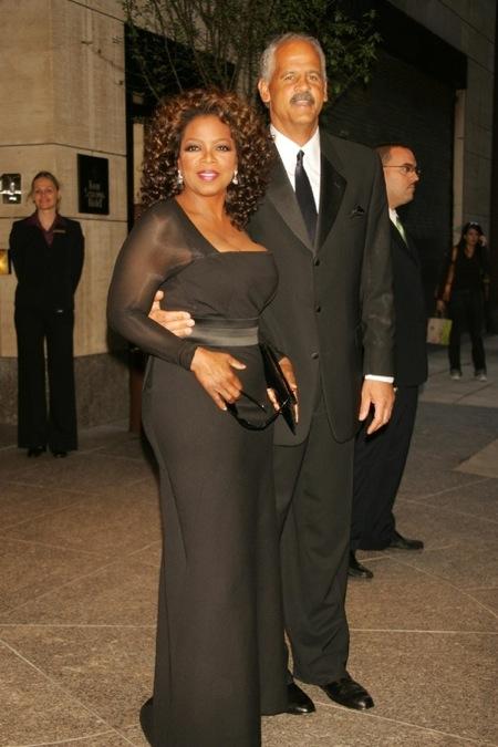 Oprah Winfrey with her boyfriend Stedman Graham. Oprah Winfrey Calls her relationship with Stedman Graham untraditional