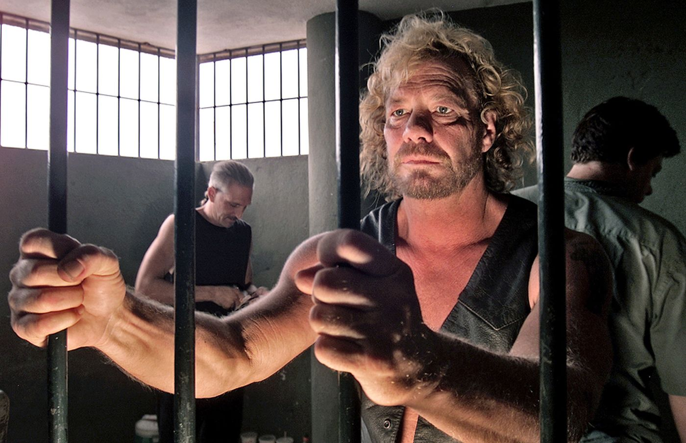Duane Chapman behind the bars