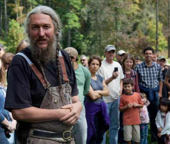 Eustace Conway at Turtle Island. Eustace Conway is featured on the TV series, Mountain Men