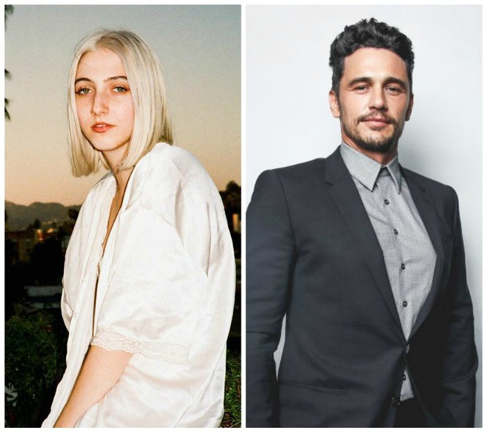 Violet Paley is an up and coming American actress. James Franco is an established American actor known for his lead roles in comedy movies.