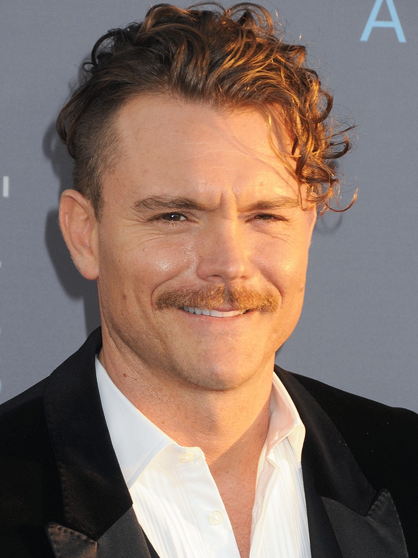 Clayne Crawford smiling for a picture