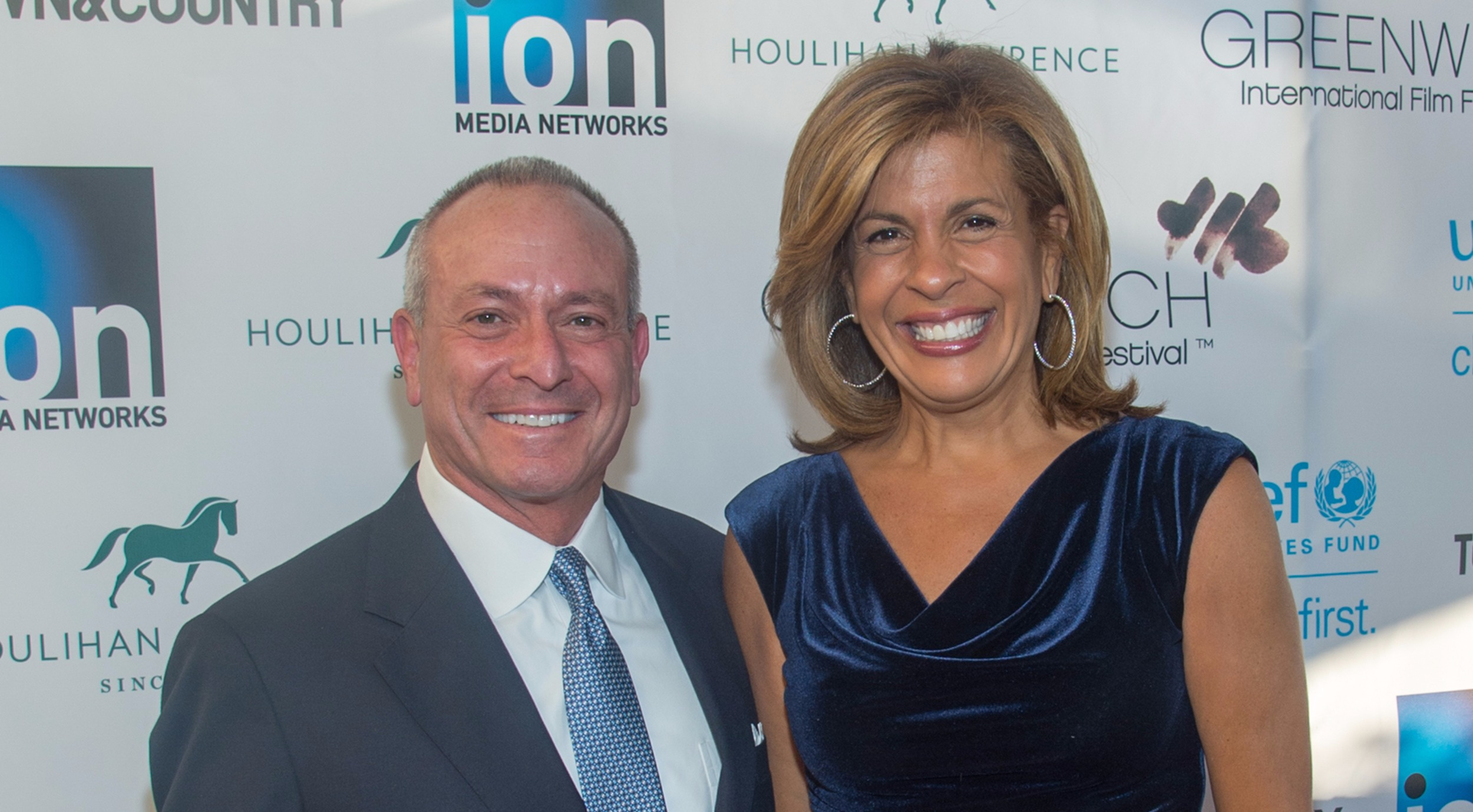 Hoda Kotb and Joel Schiffman at an event