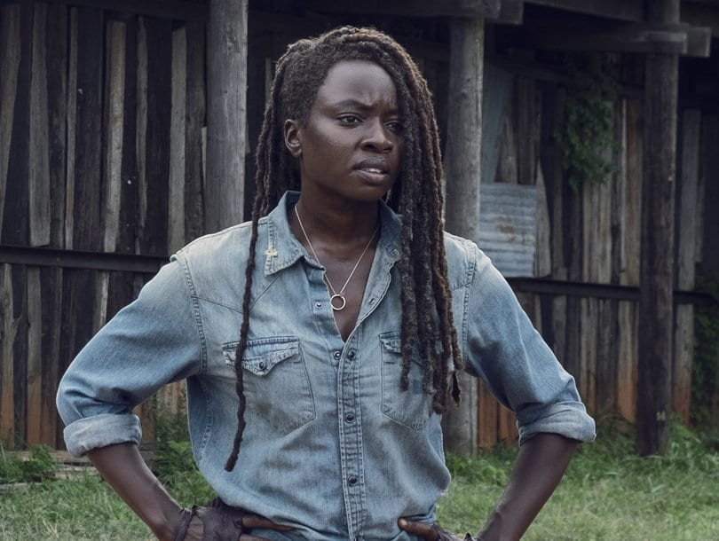 Danai Gurira in the custom of Michonne