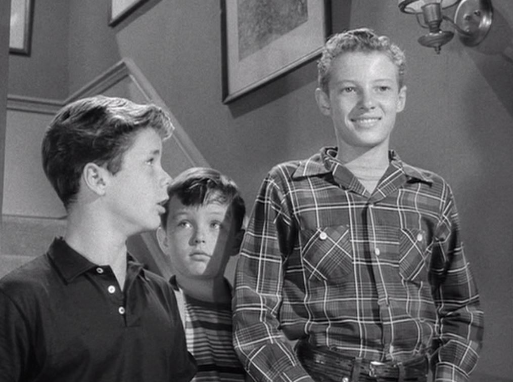 Ken Osmond in Leave it to Beaver with other casts