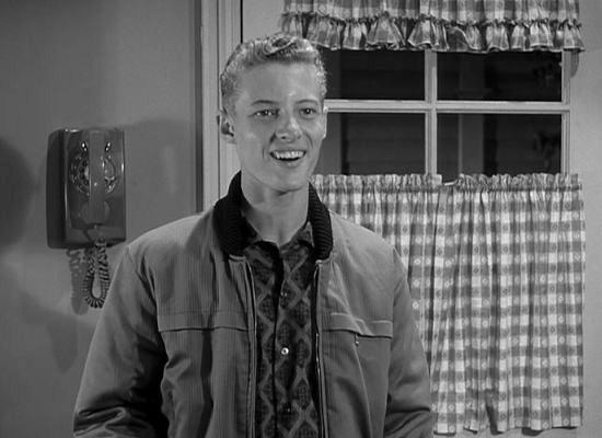 Black and white image of Ken Osmond