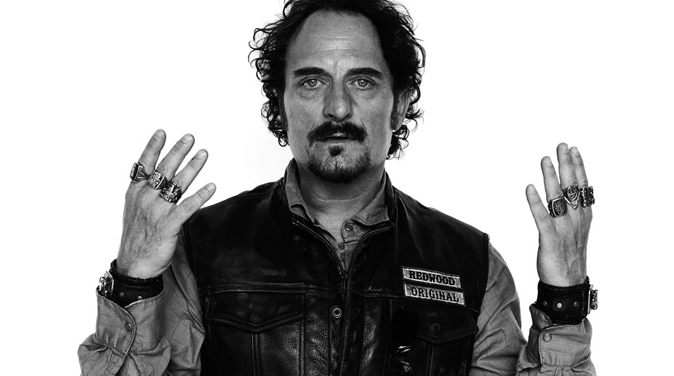 """Kim Coates as Alexander """"Tig"""" Trager from Sons of Anarchy"""