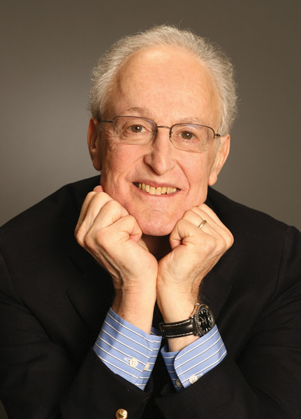 David Shire holding his hand on his chin