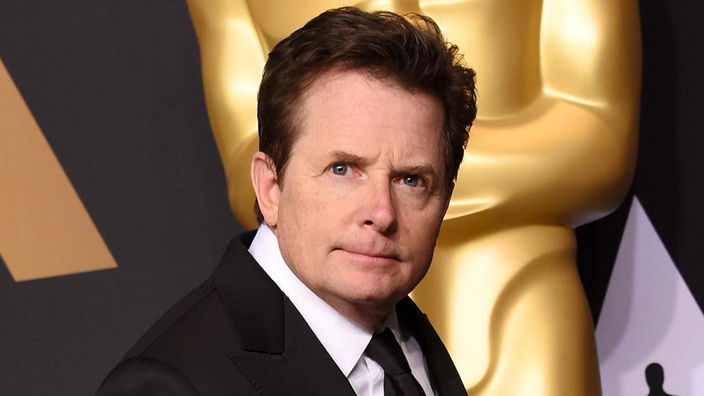 Michael J. Fox giving the interesting look
