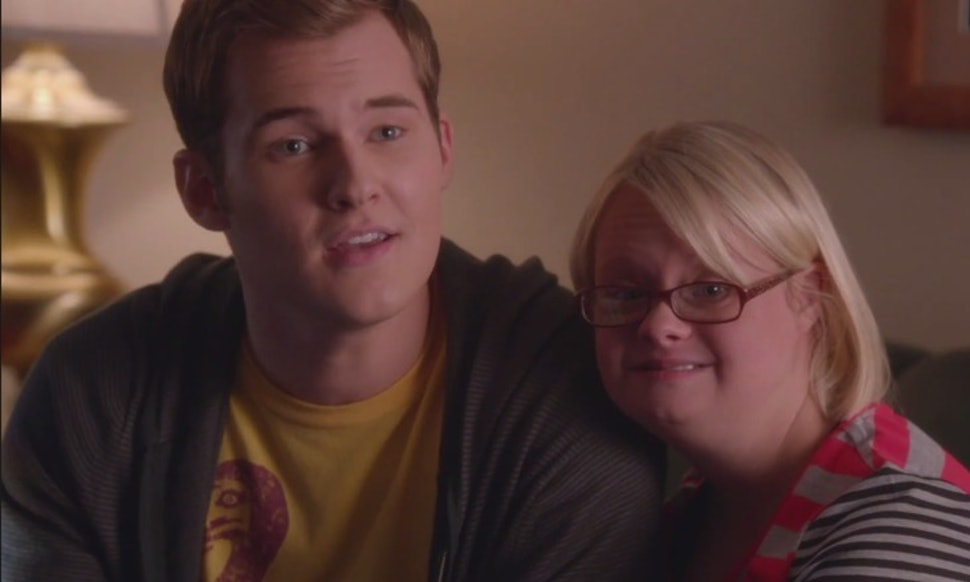 Justin Prentice as Darrell in Glee.