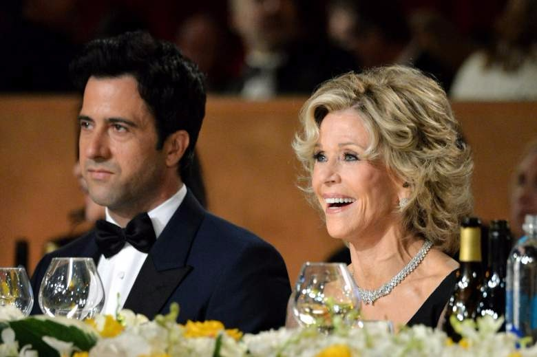 Troy Garity attending a ceremony with his mother Jane Fonda. The mother son duo look adorable together.