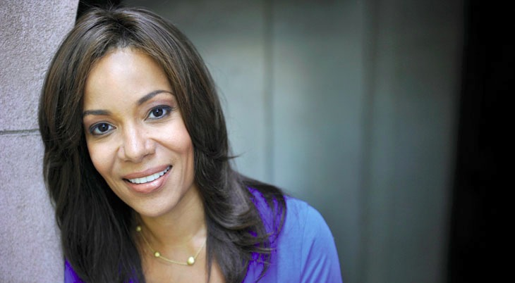 Sunny Hostin is a woman with mixed heritage.