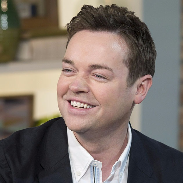 Stephen Mulhern is smiling