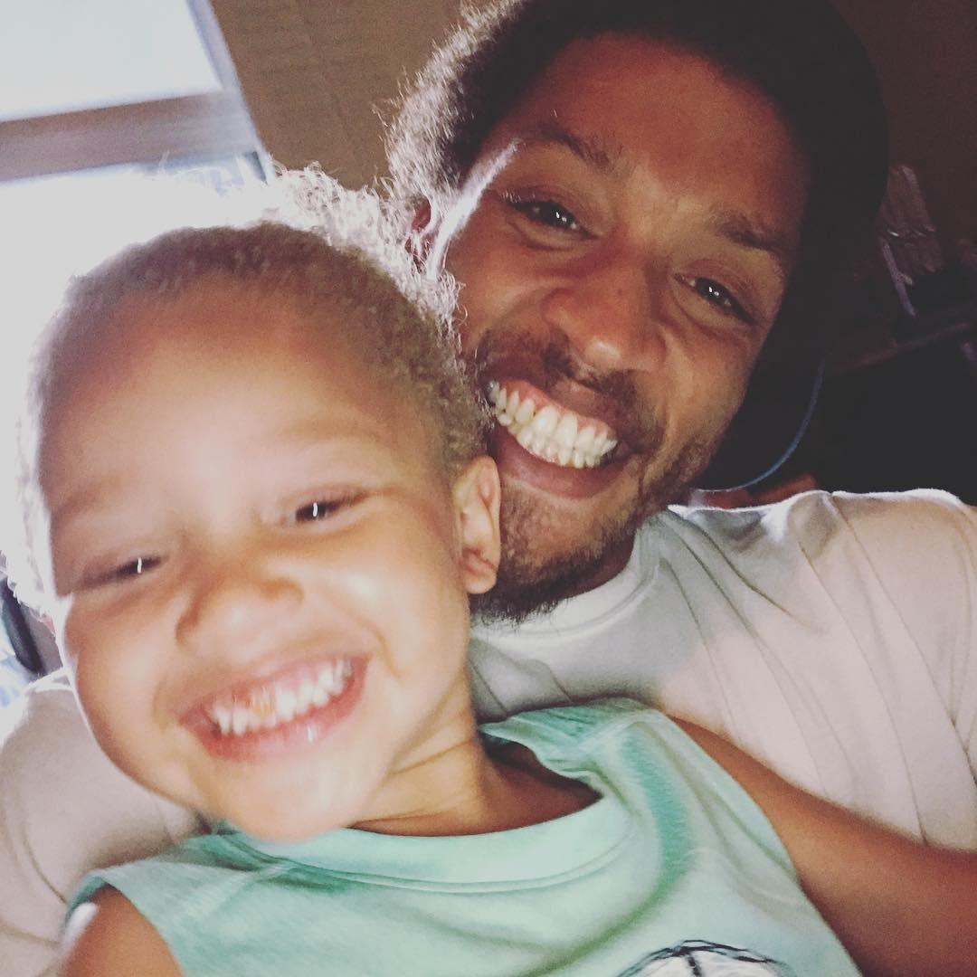 Michael Beasley selfie with daughter Mikaiya Z. Beasley