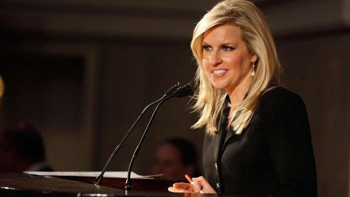 Fox News journalist Monica Crowley looks beautiful in black dress.