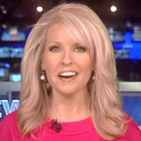 Monica Crowley on Fox News desk