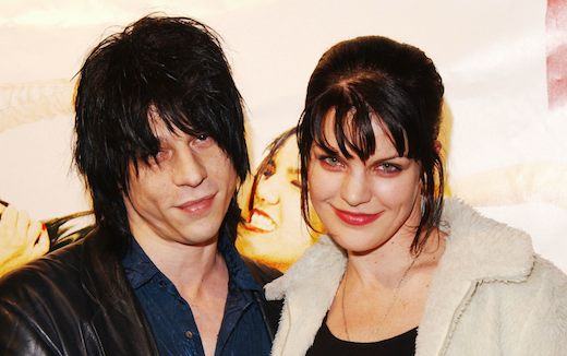Pauley Perrette with her then husband Coyote Shivers.