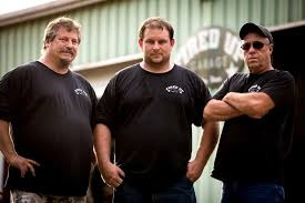 Tom smith with his team members of Fired Up Garage, Jordan Butler and Thomas Weeks.