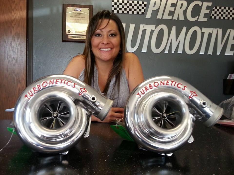 Tina Pierce on her automotive shop