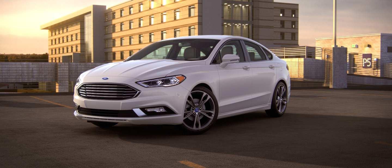 Austin Cumlee's car Ford Fusion