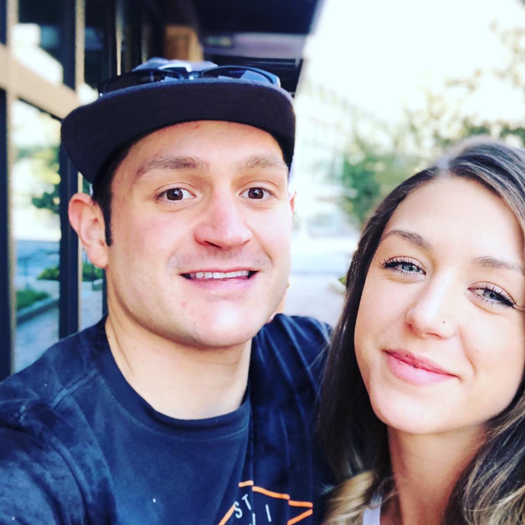 Nick McGlashan and his girlfriend, Claire Hammond
