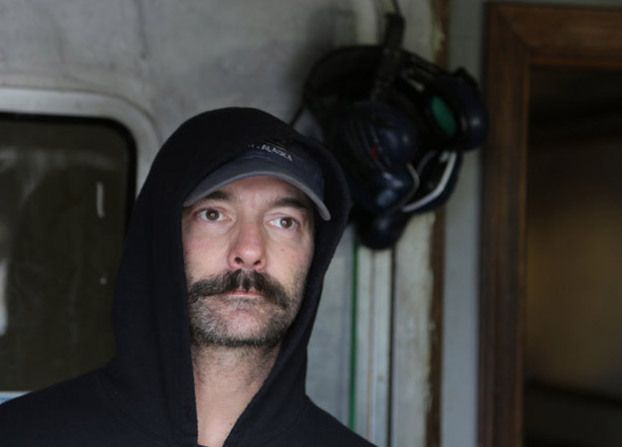 Neal Hillstrand aboard the F/V Time Bandit.