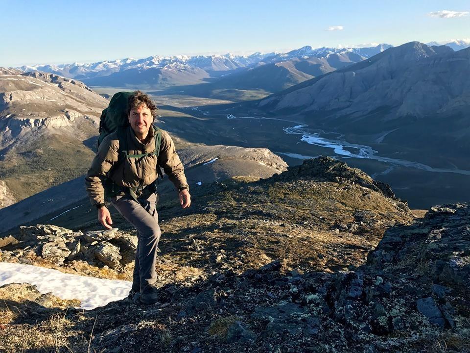 Glenn Villeneuve is climbing the mountains