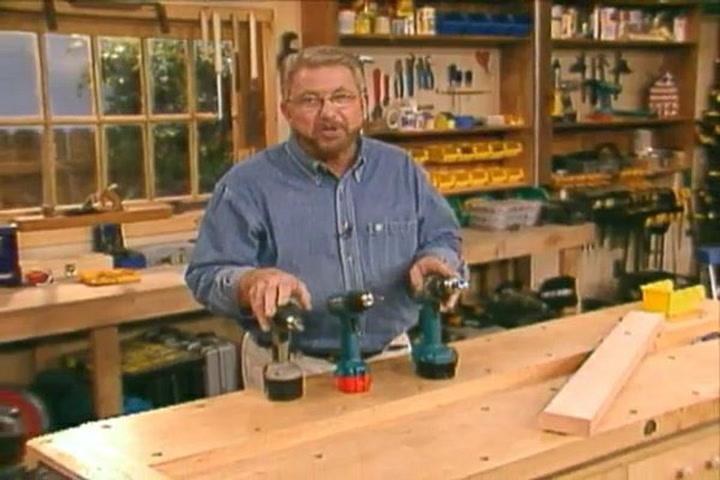 Ron Hazelton is showing some DIYs