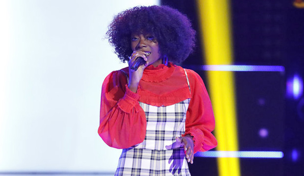 Christiana Danielle is wearing red t-shirt followed by check dress