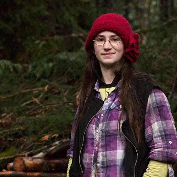 Snowbird Brown is wearing a red-cap