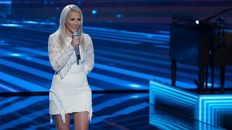 Gabby Barrett on her on-stage performance