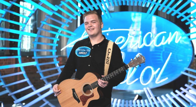 Caleb Lee Hutchinson in the audition round of American Idol