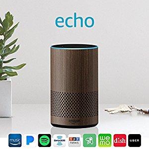 Smart speaker with Alexa - Limited Edition Walnut Finish