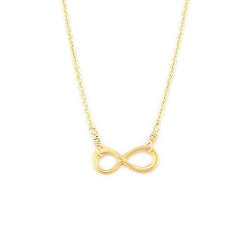 Infinity Necklace Tiny Infinity Symbol Necklace with Infinity Pendant