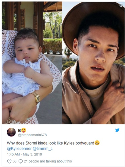 Collage of Tim Chung and Stormi Webster is made