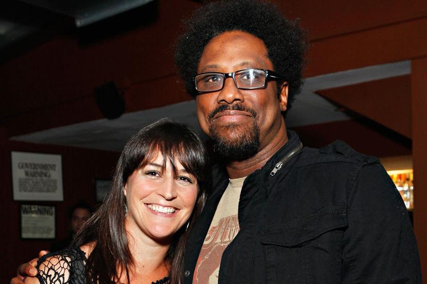 Melissa Hudson and her husband