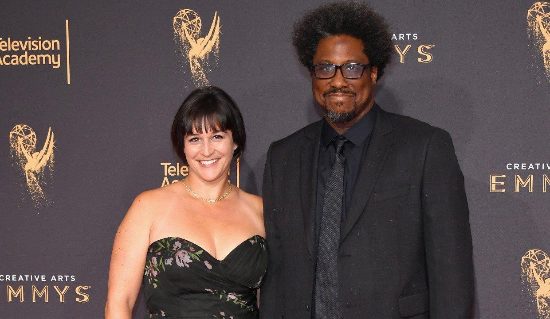 Melissa Hudson with her husband Kamau Bell