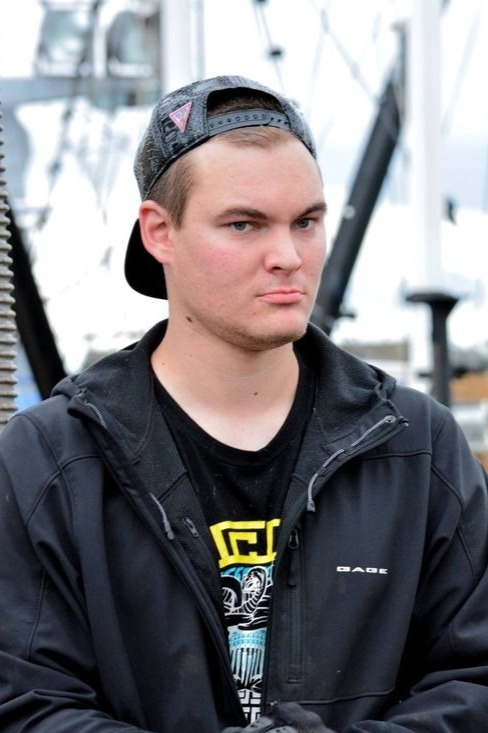 Axel Hillstrand is a deckhand in th F/V Time Bandit.