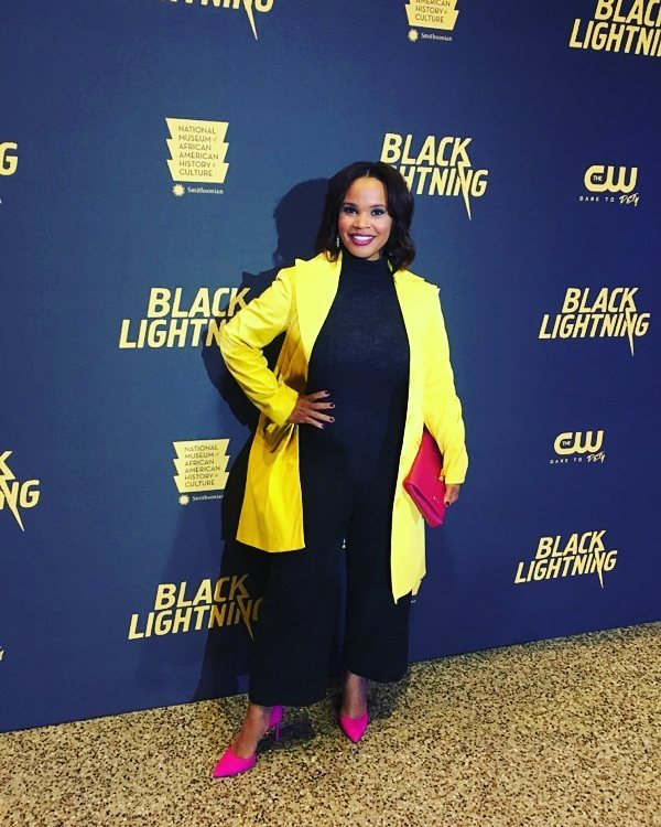 Laura Coates in an event of Black Lightning