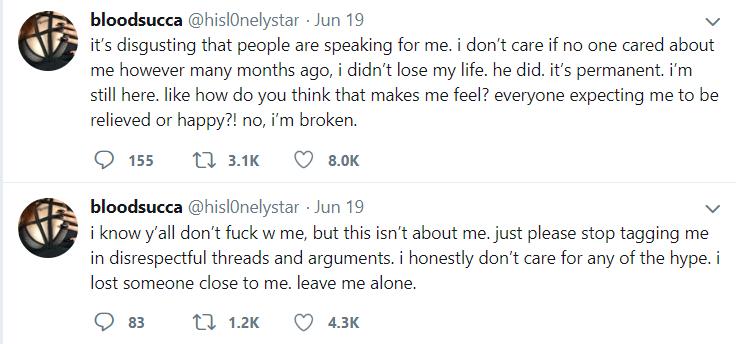 Geneva Ayala's tweet