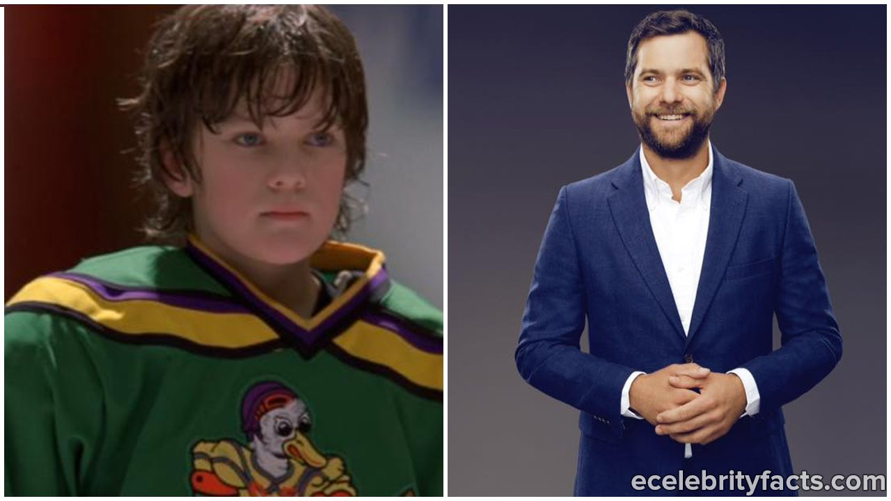 Joshua Jackson as Charlie Conway (left) and now (right)