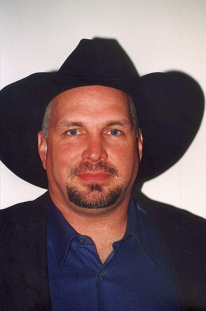 Garth Brooks wearing a hat