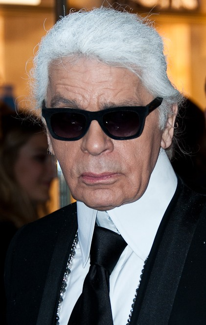 Former executive producer of Chanel, Karl Lagerfeld