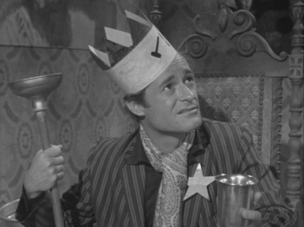 Dick Miller in one of the scenes of A Bucket of Blood