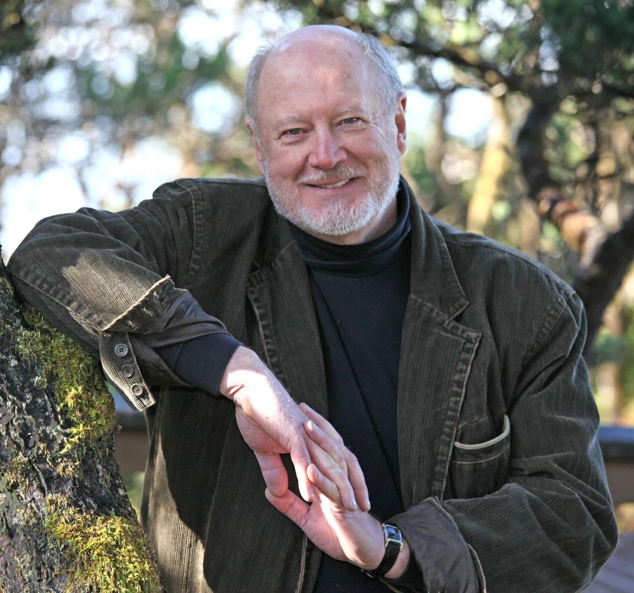 David Ogden Stiers posing for a photo.