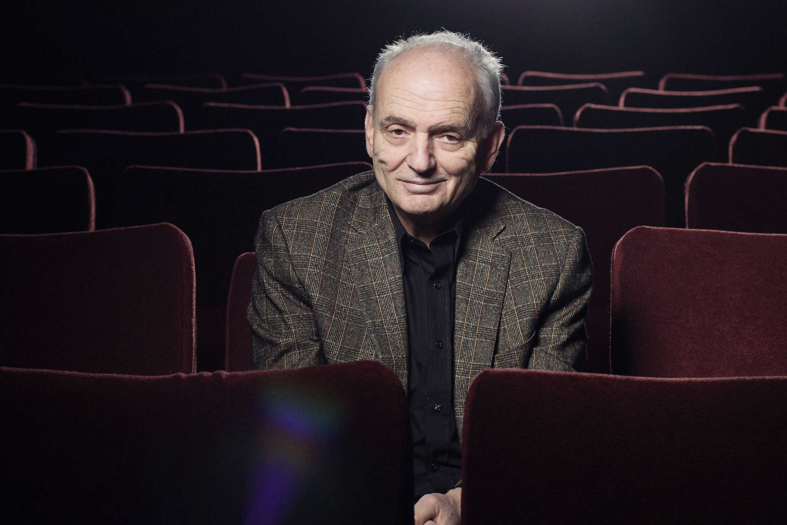 David Chase sitting in a theater