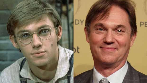 """Richard Thomas as John """"John-Boy"""" Walton Jr."""