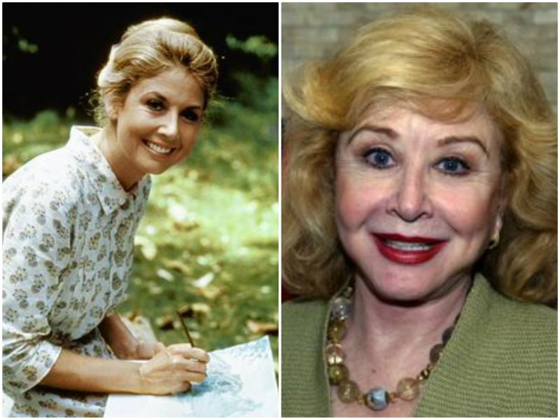 Michael Learned played the role of Olivia Walton